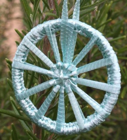 Dorset Button Kit - Christmas Crosswheel Spearmint